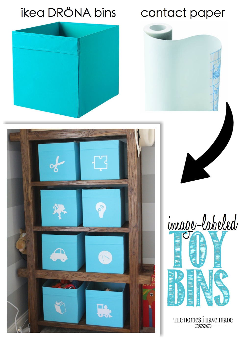 Ordinaire Image Labeled Toy Bins