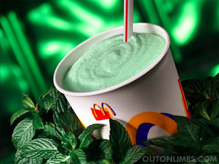 At Home Make Your Own McDonald's Shamrock Shake Recipe Healthy Low Fat