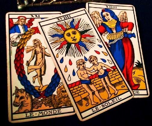 Tirada de tres cartas