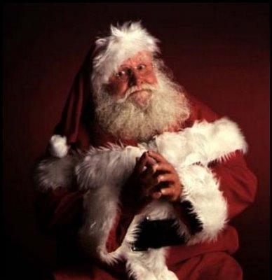 La naturaleza de Santa dice que él es su propio trineo