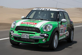 Mini All4 Racing 2013 (Peterhansel - Cottret) Front Side