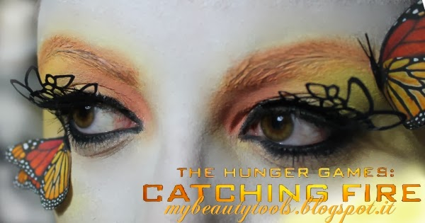 The Hunger Games Catching Fire Make Up Nails