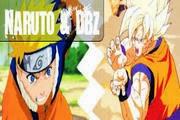 لعبة غوغو بطل انمي دراغون بول ومطاردة نسخ ناروتو Naruto Vs Goku