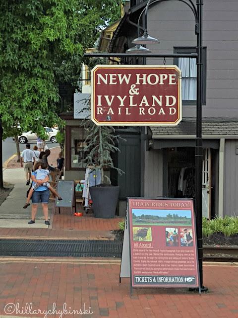 Ivyland Railroad in New Hope, PA