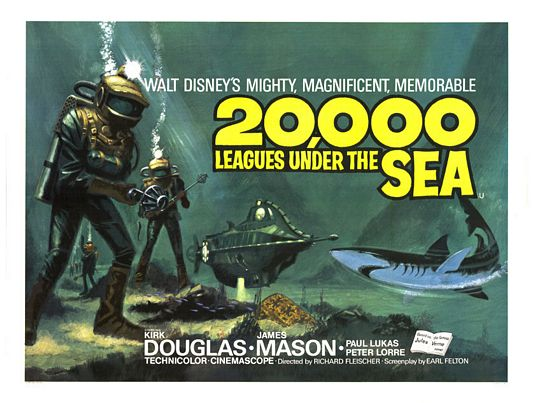 20000 Leagues Under Sea movie poster