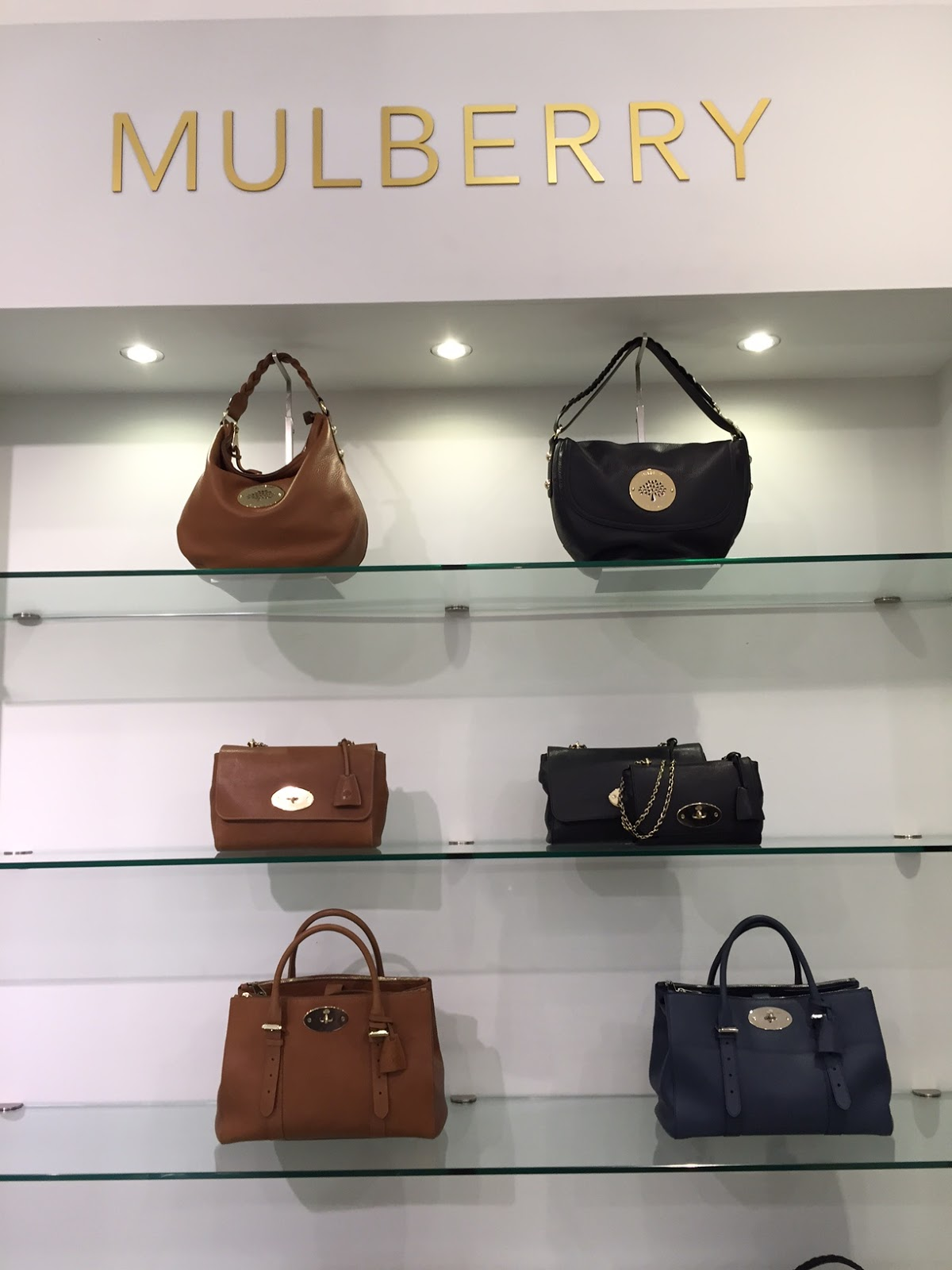 b7004f1cdf5c wish and wear  On Location  Mulberry at Selfridges Visit