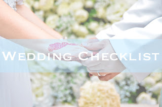 Checklist : Persediaan Perkahwinan