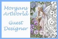 I'm Guest DT for Morgan's ArtWorld