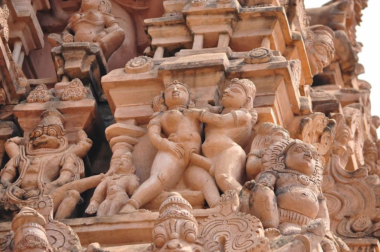 Human statue sex erotic movie