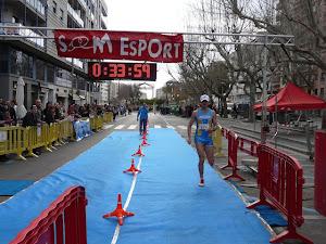 Meta Quarta y paso Media Maratón