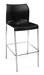 OFM E2000 Essentials Bar Stool in Black