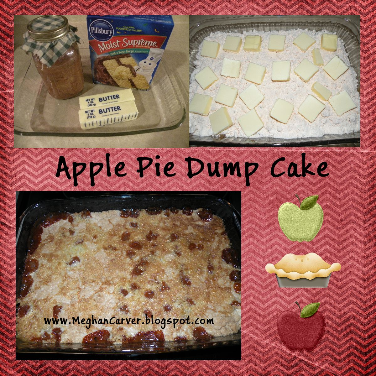 Recipe For Apple Pie Filling And Butter Pecan Cake Mix
