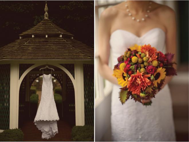 Fall Outdoor Wedding : Rustic Elegance + DIY Details