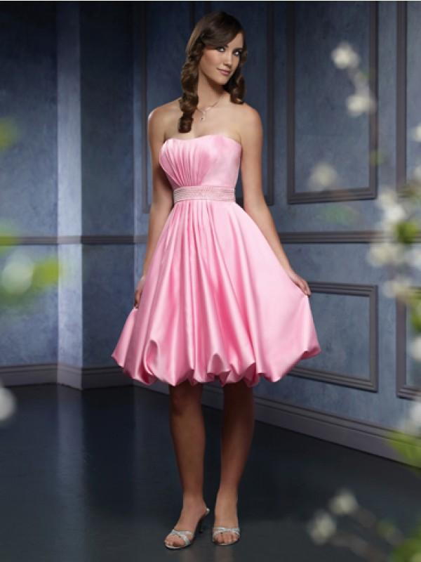 Pink Short Wedding Dresses : Pink short homecoming dresses design wedding dress