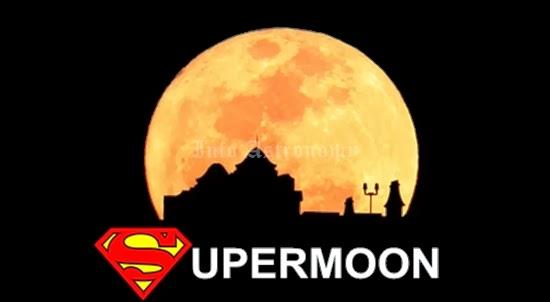 Akan Ada 5 Supermoon di Tahun 2014