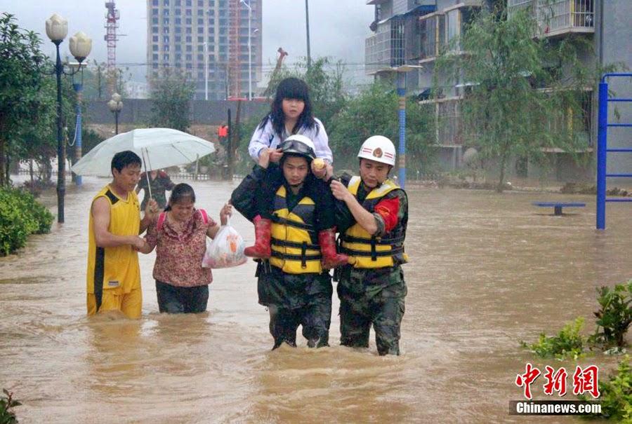 Südchina versinkt in Überschwemmungen | Gerrys Blog