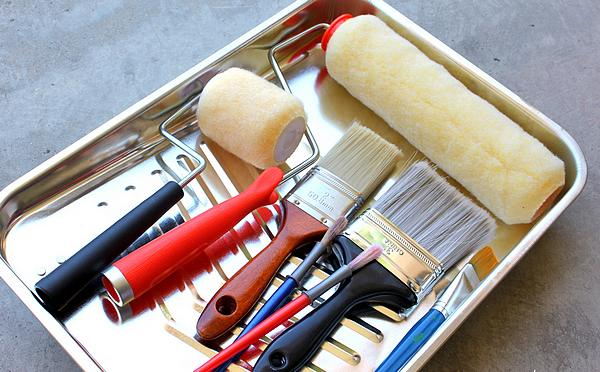 Limpiar pinceles y rodillos hogar y bricolaje - Limpiar pintura plastica ...