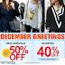 December Greetings Sale on Sheinside