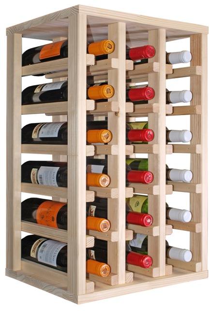 Botelleros muebles y estuches para el vino consejos para construir nuestro botellero en casa - Botelleros de madera para vino ...