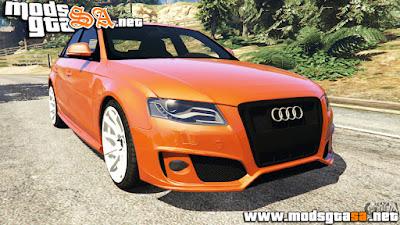 V - Audi S4 para GTA V PC