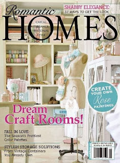 Romantic Homes Magazine October 2013