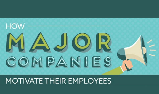 Image: How Major Companies Motivate Their Employees