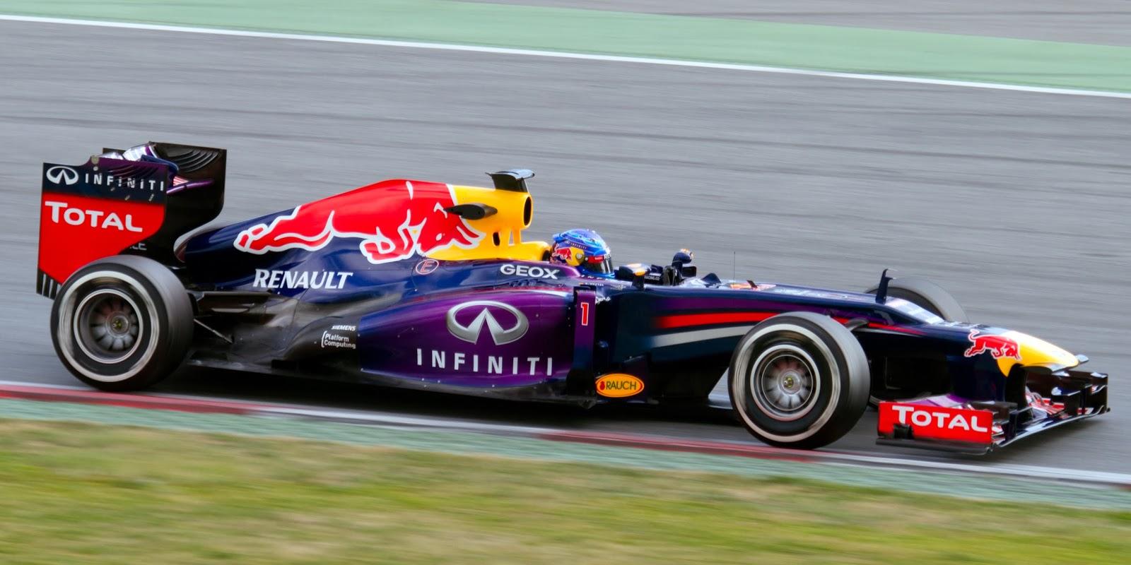 Formula 1 2013 Sebatian Vettel/ RBR