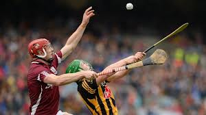 Joe Canning goes up for a catch