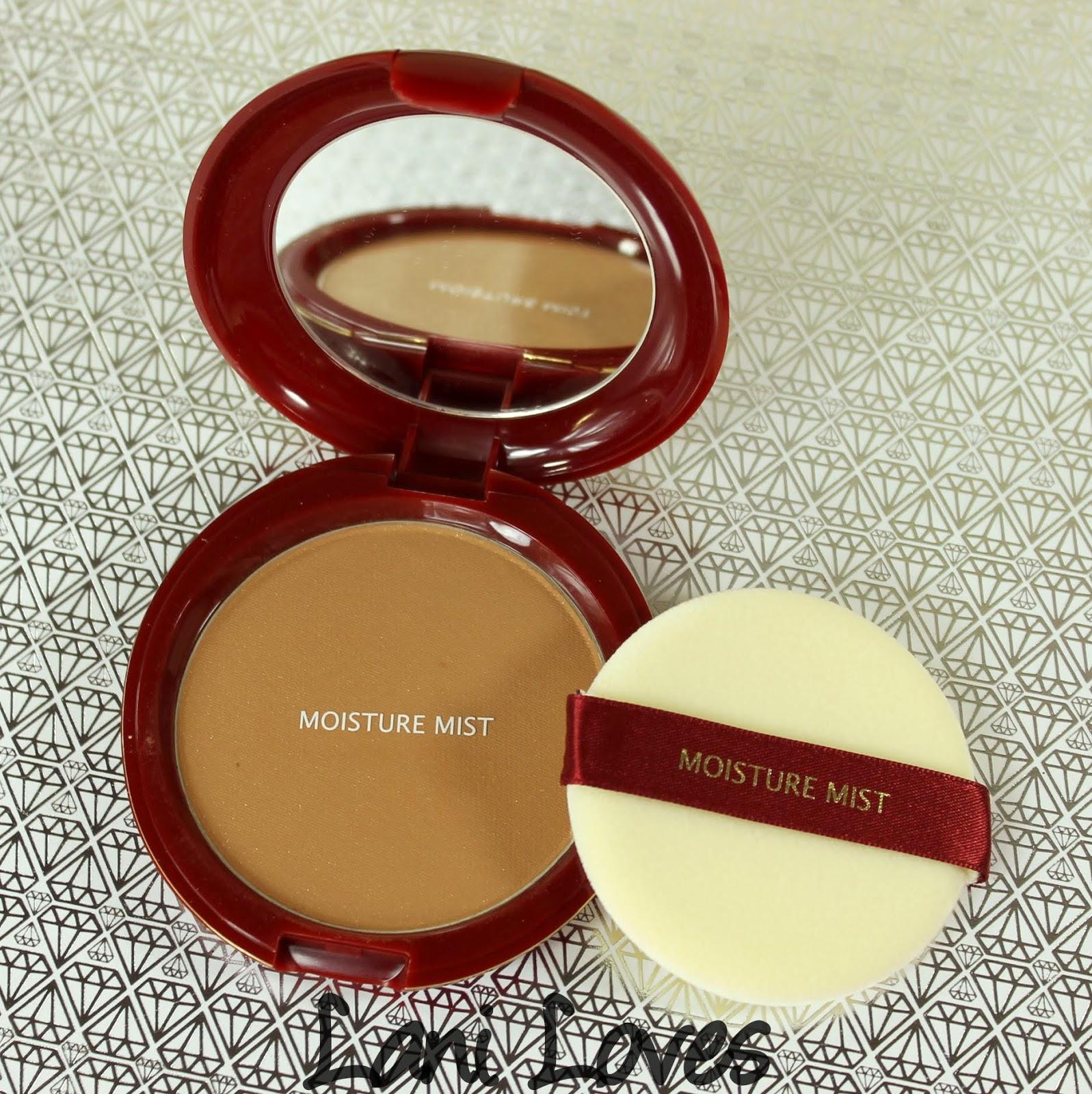 Moisture Mist Translucent Pressed Powder - Bronze Swatches & Review