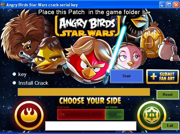 Angry Birds Star Wars crack serial key tool 2013