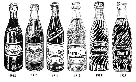 history pepsi bottles
