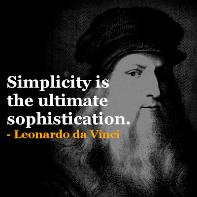 Leonardo da Vinci Inspirational quotes