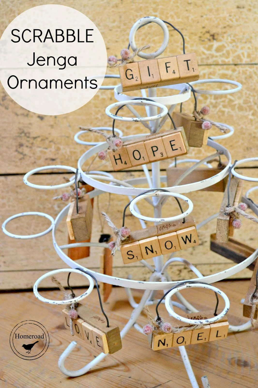 scrabble-jenga-Christmas-ornaments www.homeroad.net