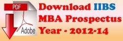 Download IIBS MBA Prospectus-2012
