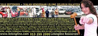 1-30/09/2018 - JUALAN KENDERAAN LELONG SELURUH MALAYSIA & SEKITAR KLANG VALLEY-SGR/K L
