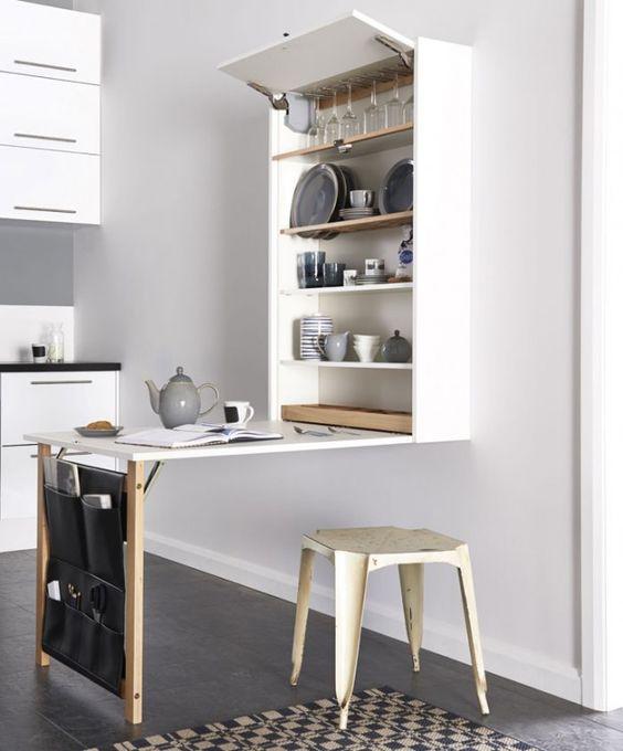 Dora dekorasjon: lite kjøkken? smart oppbevaring til deg!