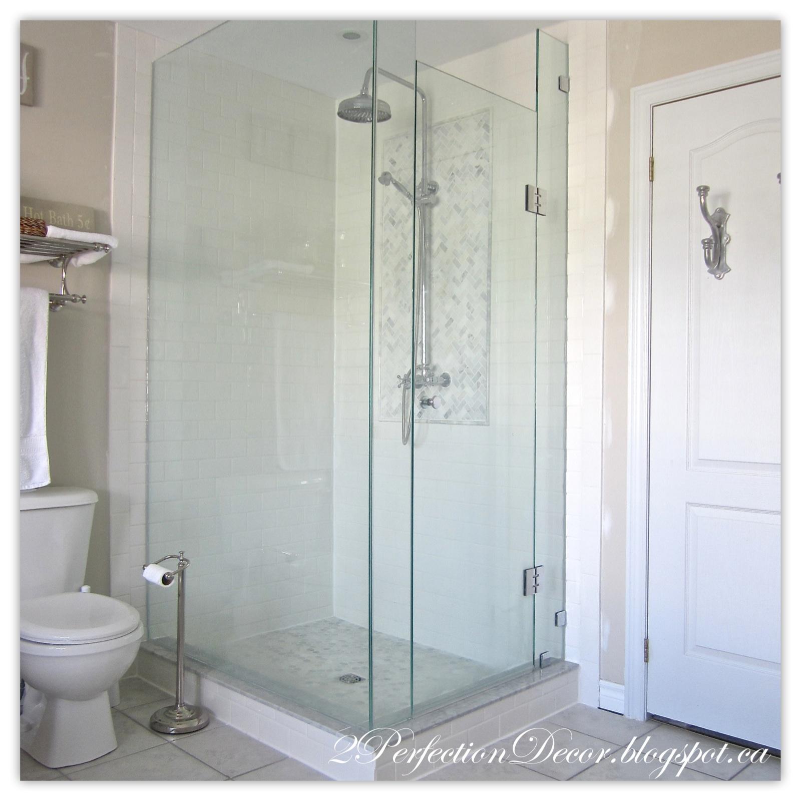 2perfection decor master ensuite shower reveal for Ensuite bathroom ideas design