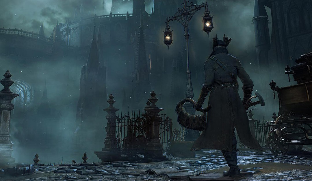 how to know bloodborne new game level