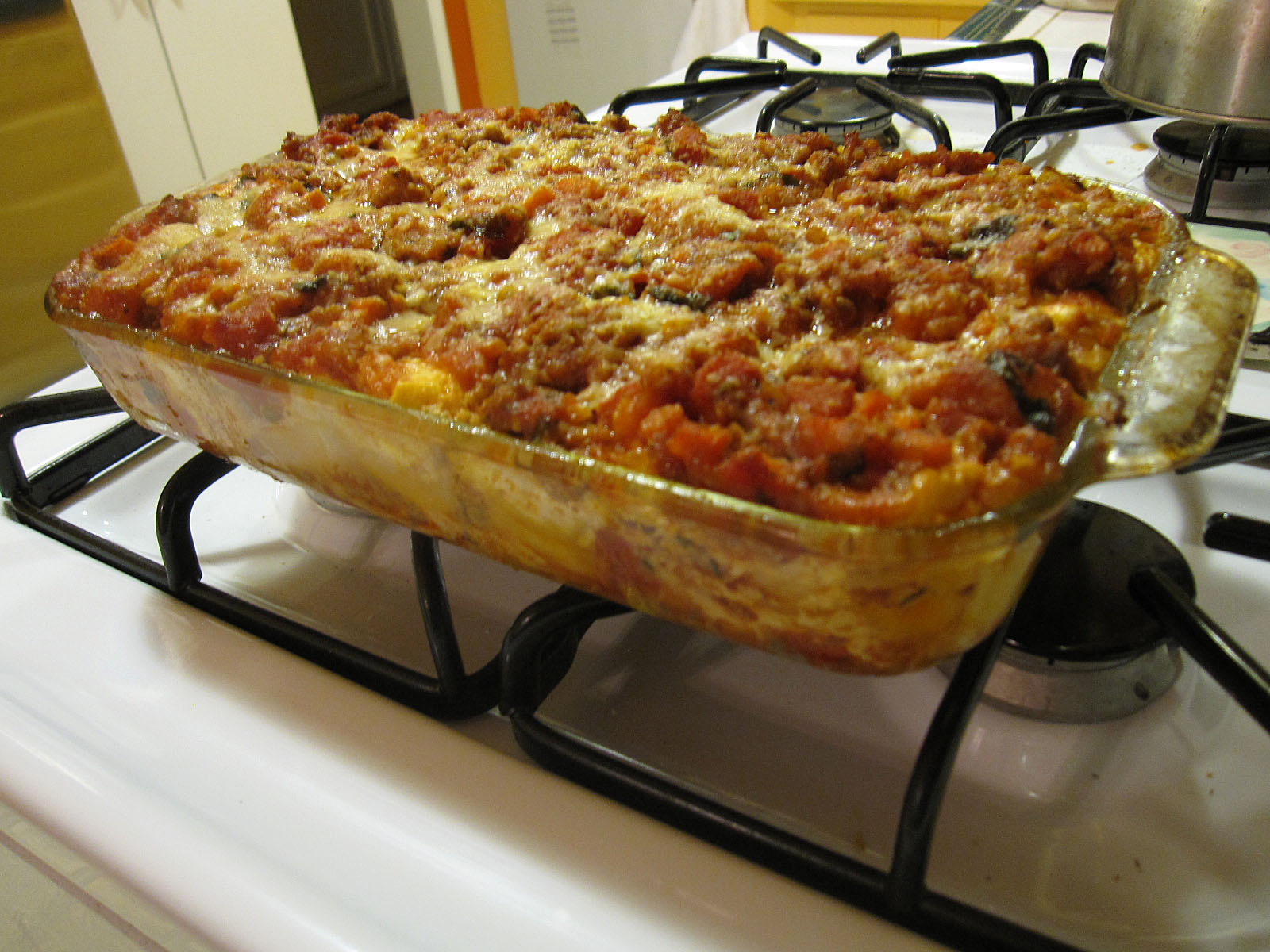 The History Quilter: T@tT: Lasagna In Shifts