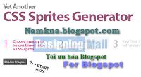 Sử dụng CSS Sprite để tối ưu hóa Website, blog