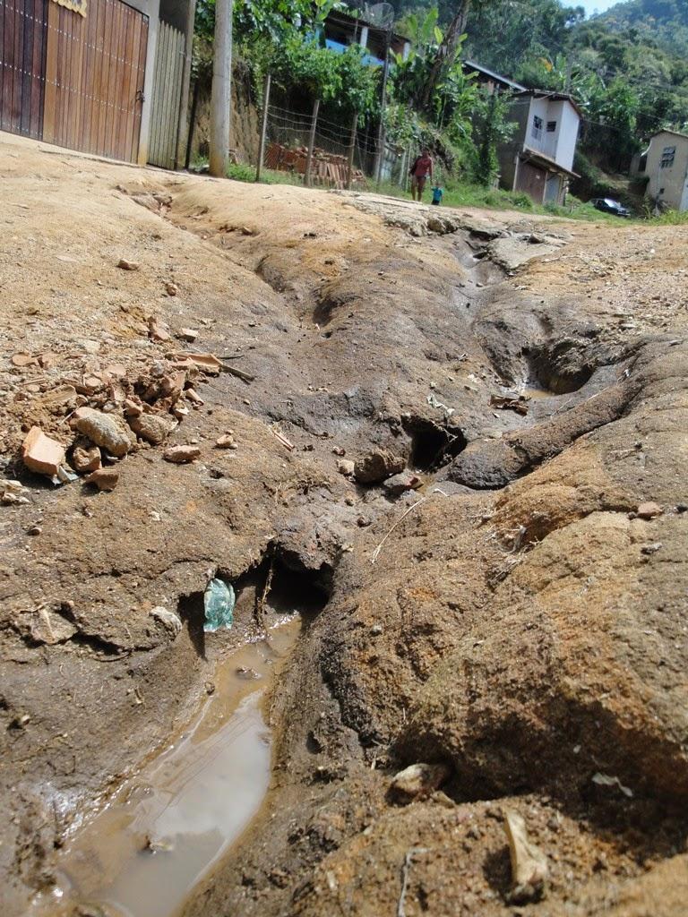 Situação da estrada Rincão do Vovô na Posse em Teresópolis RJ