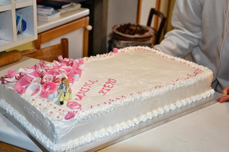 Torta Nuziale Piero e Amina.