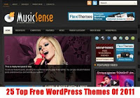 25 Top Free WordPress Themes Of 2011