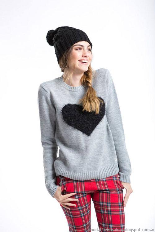 Sweaters invierno 2015 Como quieres que te quiera moda juvenil.