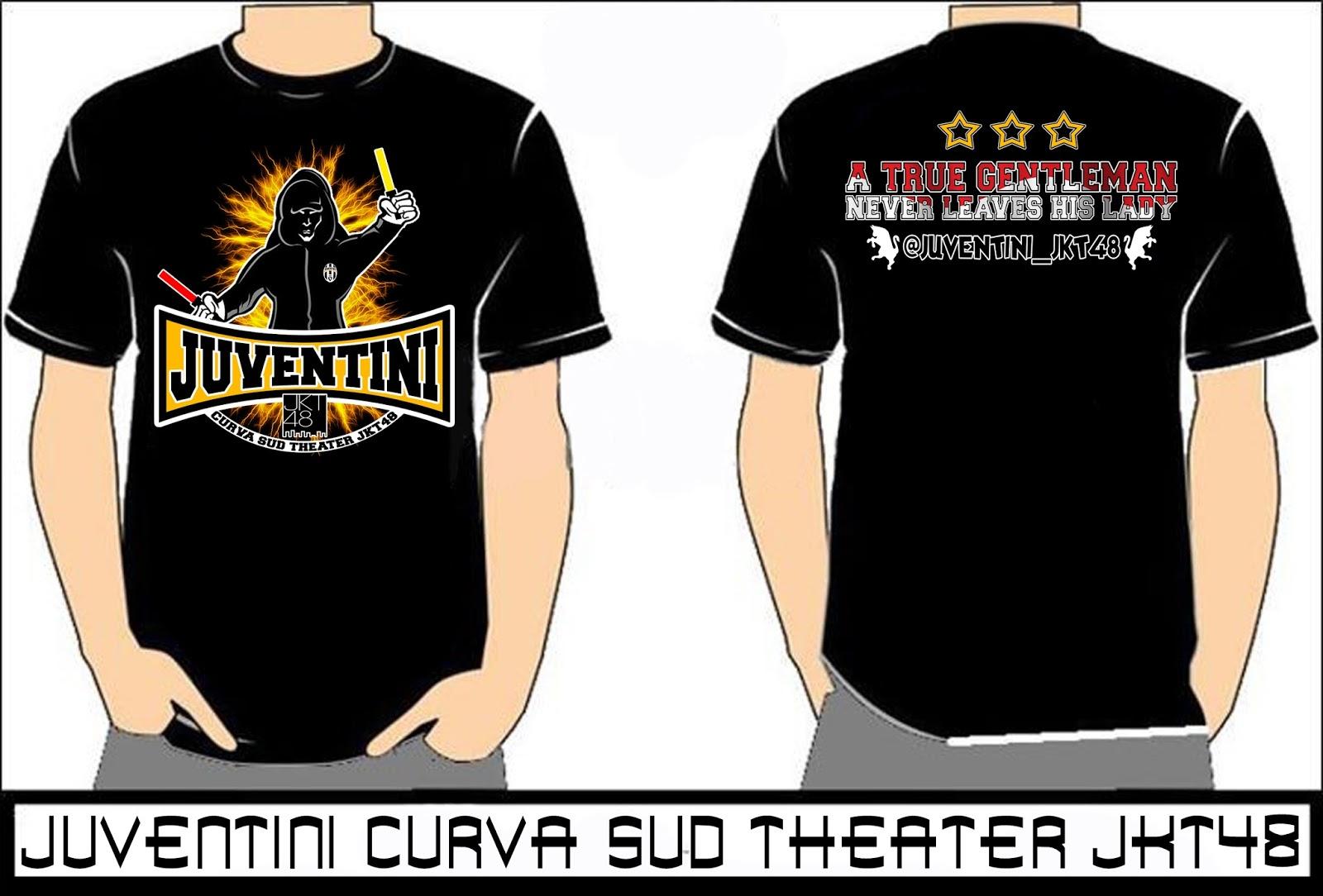 Desain t shirt jkt48 - Juventini Jkt48 Yuk L