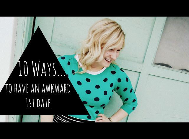 how to have an awkward first date