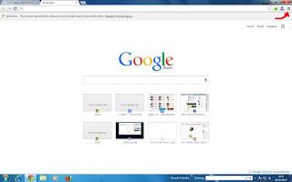 Print do navegador Google Chrome