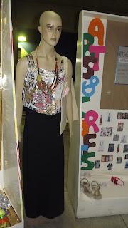 Semana de Moda - Exposição dos Alunos - Arts e Crafts - Modelo