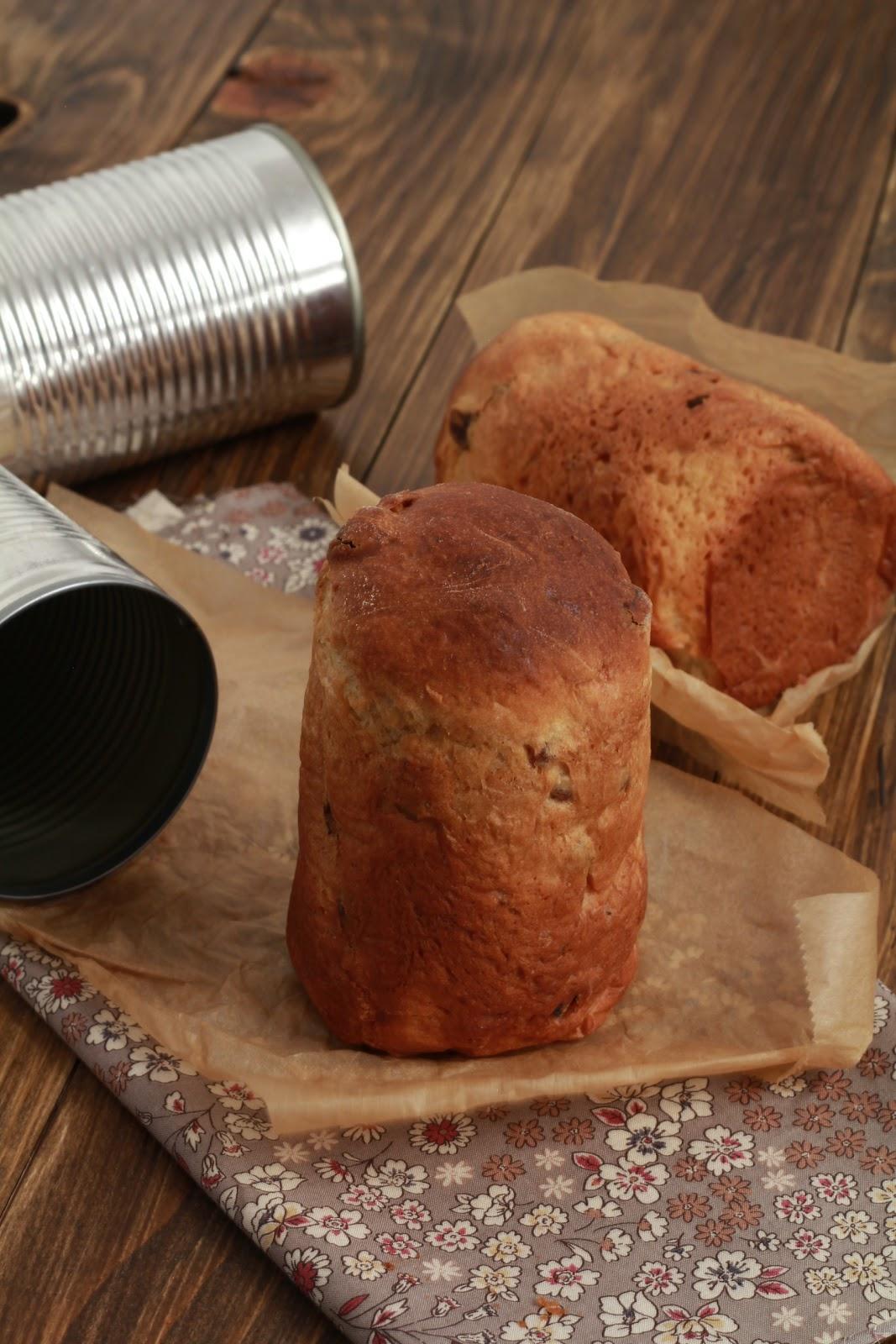 On dine chez nanou pannetone individuel offrir cuit - Cuisiner avec des boites de conserves ...