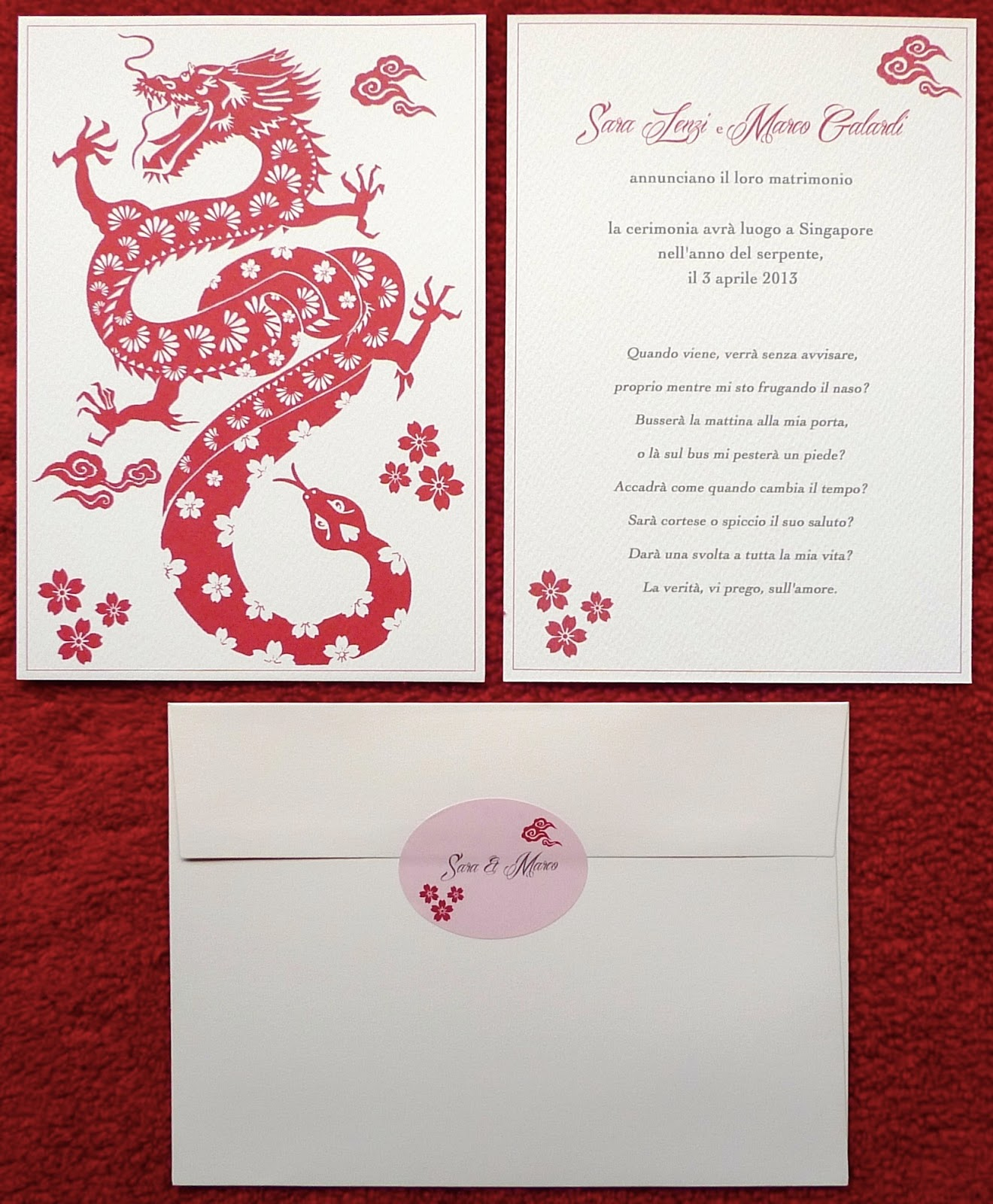 Kalo make art bespoke wedding invitation designs dragon snake kalo make art bespoke wedding invitation designs dragon snake bespoke wedding invitation design singapore stopboris Choice Image